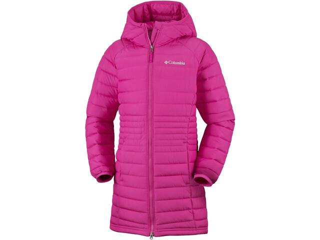 Klettergurt Pink : Columbia powder lite mid jacket girls cactus pink campz.ch